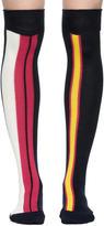 Sacai Multicolor Striped Socks