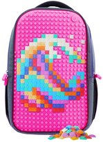 Upixel Classic Backpack - DIY Pixel Art - School Laptop Bag - 4 Different Colors