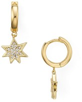 Rebecca Minkoff Star Huggie Hoop Earrings