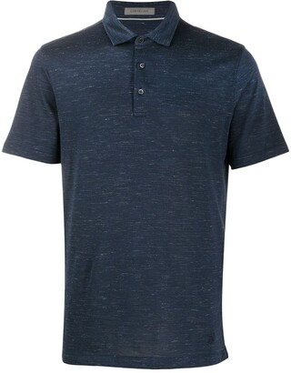 Corneliani Slim-Fit Short-Sleeved Polo Shirt