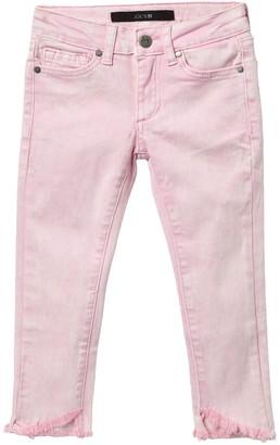 Joe's Jeans Mid Rise Angle Hem Skinny Jeans (Toddler & Little Girls)