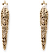 Rebecca Minkoff Feather Post Earring