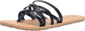 Volcom Women's Legacy Mixed Multi Strap Beach Sandal