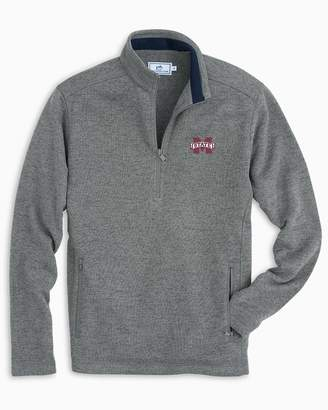 Southern Tide Mississippi State Sweater Fleece Quarter Zip