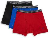 Polo Ralph Lauren Classic Fit Cotton Boxer Briefs Set of 3