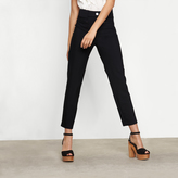 Maje High-waist straight trousers