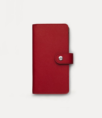 Vivienne Westwood Victoria Flap Iphone Case Red - 7/8