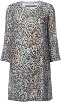 Raquel Allegra leopard print dress - women - Silk - 1