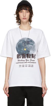 SSENSE WORKS SSENSE Exclusive 88rising White Night Market T-Shirt