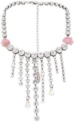 Forte Forte crystal embellished opera necklace