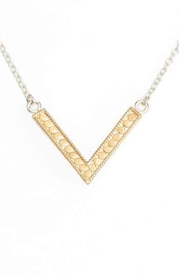 Anna Beck Reversible V Necklace