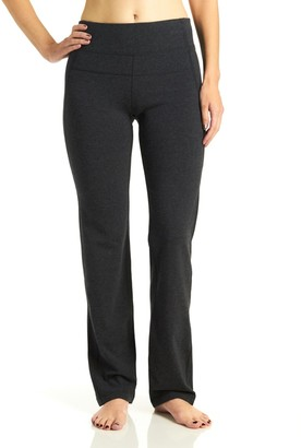 Calvin Klein Women's High Waist Narrow Straight Leg Pant