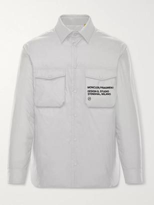 MONCLER GENIUS 7 Moncler Fragment Mazen Logo-Print Nylon Down Jacket