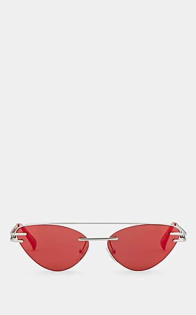 Le Specs Luxe Women's The Coupe Sunglasses - Red