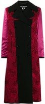 Thumbnail for your product : Junya Watanabe Mix Fabric Double-Breasted Coat