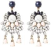 Ichi TOVE Earrings rose smoke