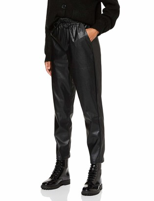 New Look Women's PU Jogger Trousers