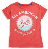 Jessica Simpson Girls 7-16 Soda Cap Tee