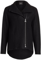 Akris Ray Cashmere Jersey Jacket