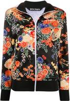 Palm Angels floral track jacket