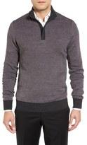Toscano Men's Half Zip Pullover
