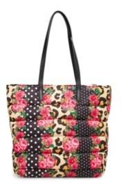 Betsey Johnson Pretty Puffer Tote