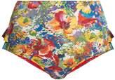 Stella McCartney Floral-print high-rise bikini briefs