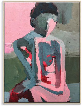 Artist Lane Pinkest Penny Framed Canvas Print