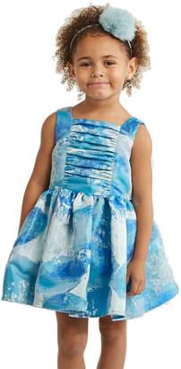 Halabaloo Blue Floral Dress