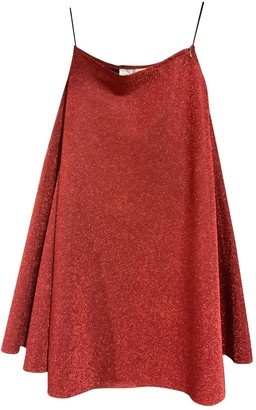 Golden Goose Red Glitter Skirts