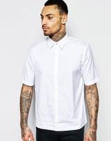 Diesel Shirt S-Mak Short Sleeve Regular Boxy Fit in White