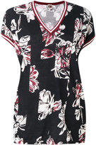 I'M Isola Marras printed v-neck T-shirt - women - Cotton - S