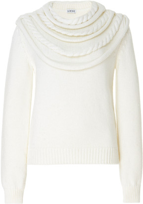 Loewe Braided Wool Sweater