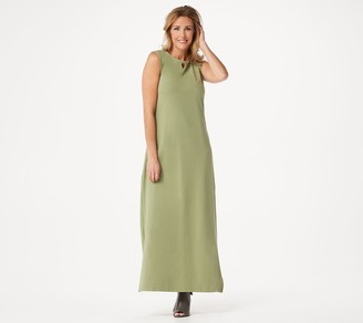Denim & Co. Essentials Regular Perfect Jersey Maxi Dress