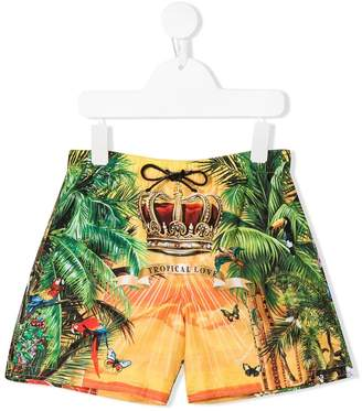 Dolce & Gabbana Tropical Love swim shorts
