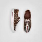 Burberry Monogram Stripe E-canvas Sneakers
