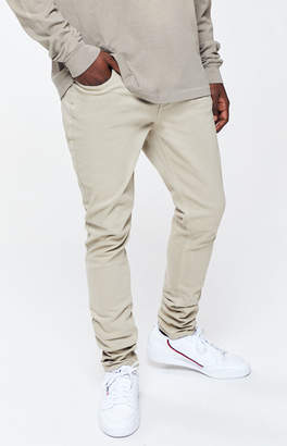 Pacsun PacSun Khaki Stacked Skinny Jeans