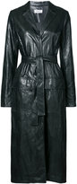 Nomia belted trench jacket