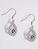M&S Collection Floating Square Drop Earrings MADE WITH SWAROVSKI® ELEMENTS