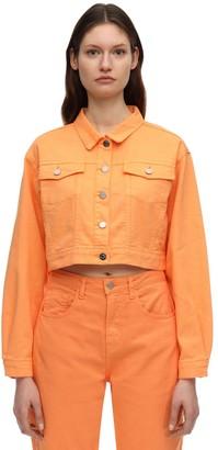 Irene Is Good Cropped Cotton Denim Jacket