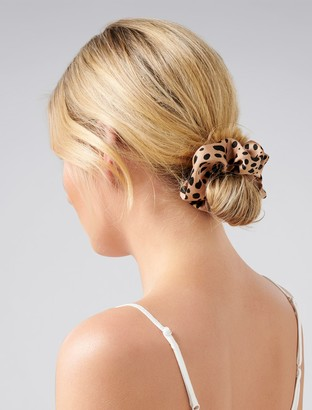 Forever New Camilla Scrunchie - Tan - 00