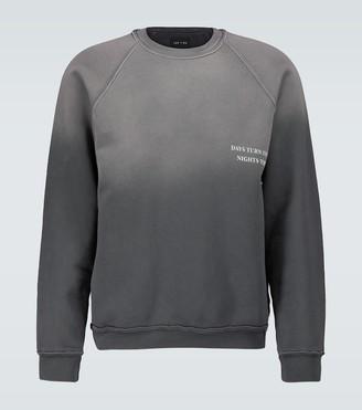 LES TIEN Four Fifteen AM cotton sweatshirt