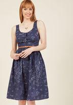 Sugarhill Boutique Scandinavian Appreciation Midi Dress in 10 (UK)