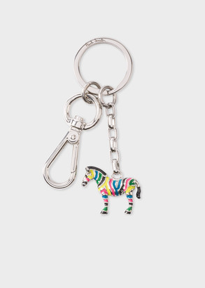 Paul Smith Multi-Coloured 'Zebra' Keyring