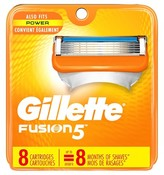 Gillette Fusion® Power Men's Razor Blade Refills - 8 count