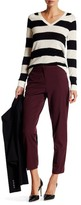 Canvas by Lands' End Canvas by Lands& End Wool Blend Slim Ankle Pant