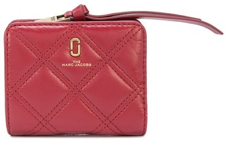 Marc Jacobs The Quilted Softshot mini compact wallet
