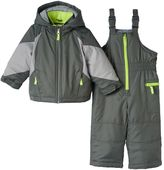 Carter's Toddler Boy Colorblock Jacket & Bib Snow Pants Set