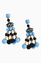 J.Crew Women's Beaded Chandelier Earrings