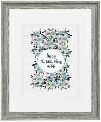 Belle Maison Grey Matted Wall Frame